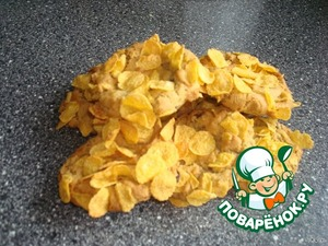 Выпекаем печенье в предварительно нагретой духовке 10 мин. при 180*С. убираем печенье с листа после полного его остывания.