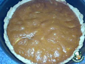 У меня на это ушло около получаса. Достаем ароматный пирожок. Сразу не едим, даем немного остыть.