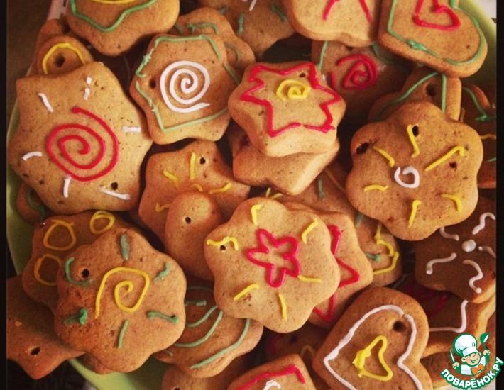 Рецепт: Имбирное печенье с корицей Почему так мало?