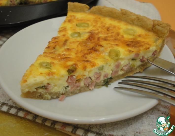 Рецепт: Французская пицца