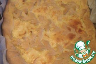 Рецепт: Яблочный пирог со сметанным кремом Как у мамы
