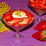 Клубничный десерт Весеннее наслаждение