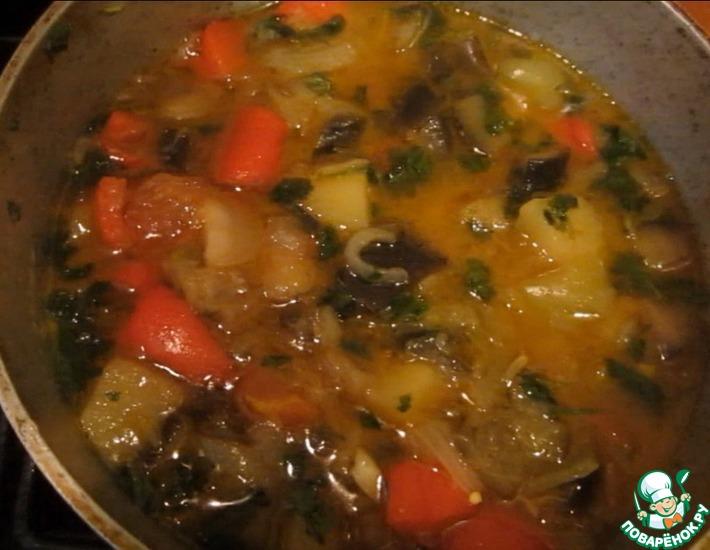 Рецепт: Овощное рагу Аджапсандали