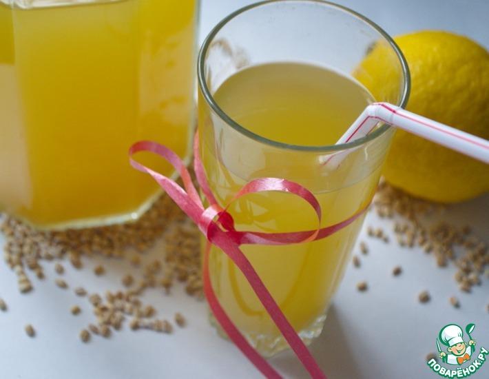Рецепт: Перловый лимонад