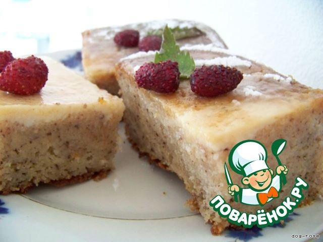 Творожный торт-запеканка