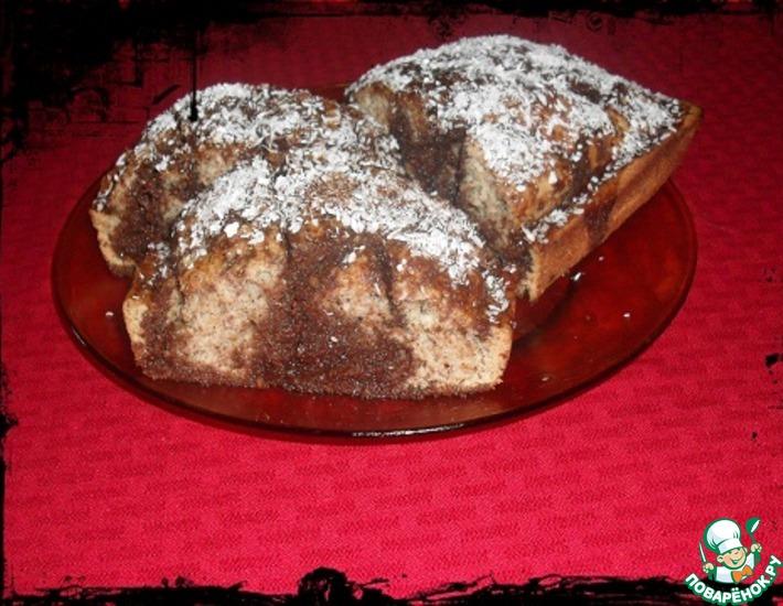 Рецепт: Пирожное Жаждущая монашка