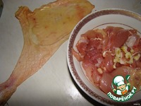 Фаршированные куриные окорочка ингредиенты