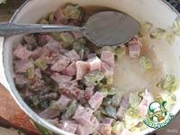 Салат Клумба ингредиенты