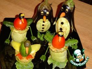 Желаю Всем насладиться вкусной овощной закуской!
