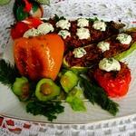 Запеченные овощи Дружная семейка
