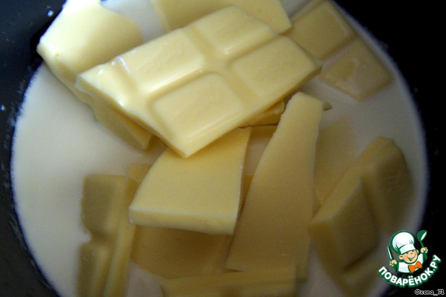 Трюфели из белого шоколада и кунжута