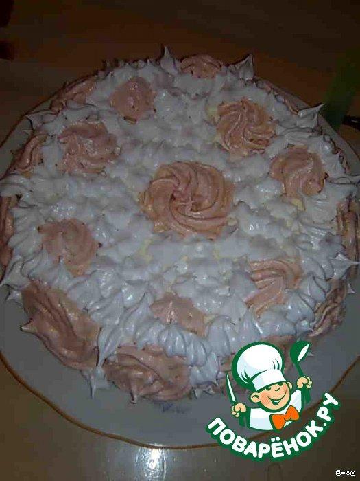 Торт  «Розовая мечта»