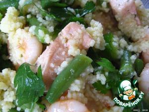 Вьетнамский салат с кус-кусом – кулинарный рецепт