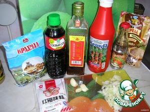 Ингредиенты, необходимые для соуса