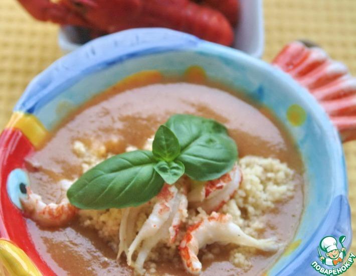 Рецепт: Суп из раков