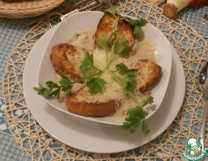 Рецепт: Ароматный весенний суп