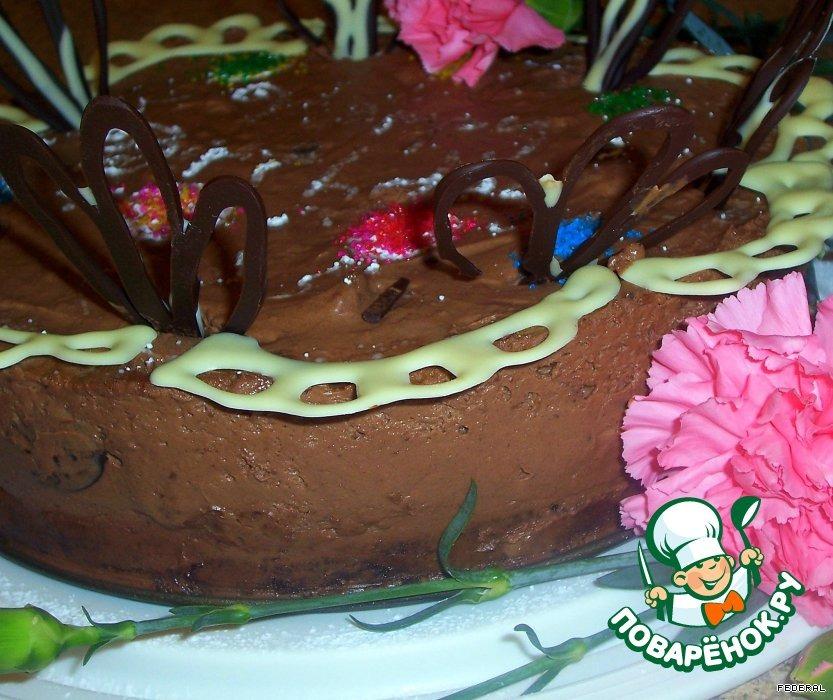 Торт Шоколадно-бархатный