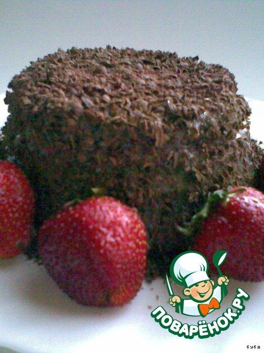 Шоколадный торт за 10 минут