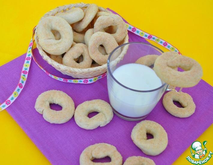 Рецепт: Быстрое печенье торчетти из Сан-Винсента