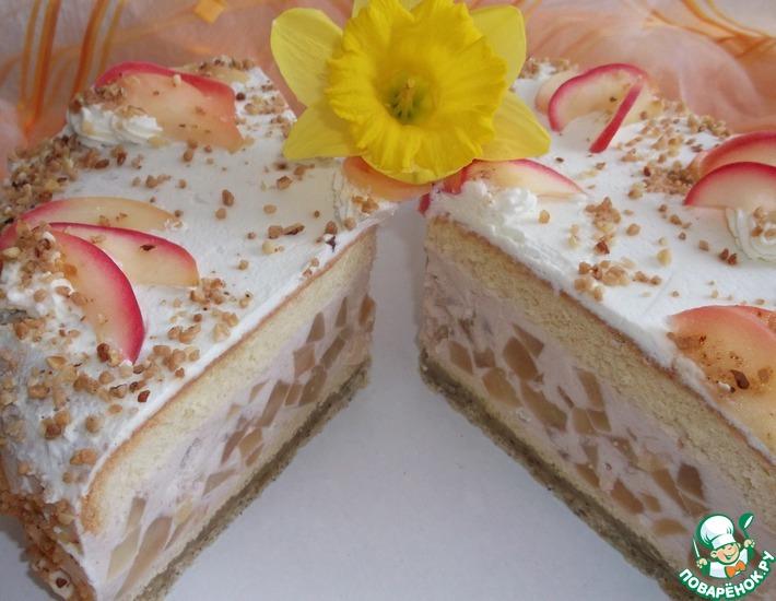 """Суфле """"Яблочное облако"""" – кулинарный рецепт"""