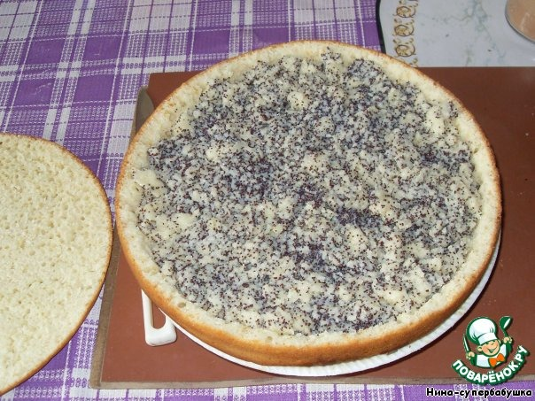 торт маковая росинка рецепт