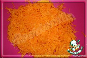 К стакану моркови добавим