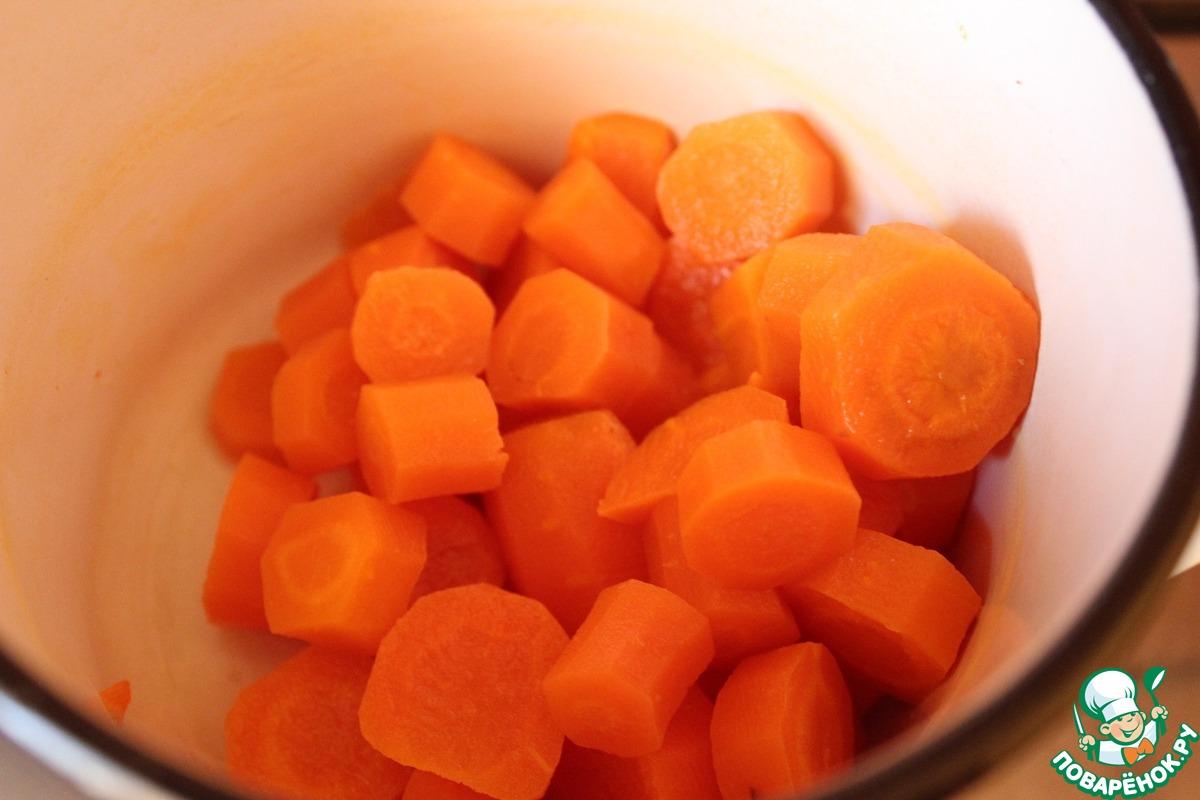 Итальянское морковное печенье