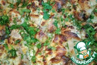 Рецепт: Куриные голени с картофелем
