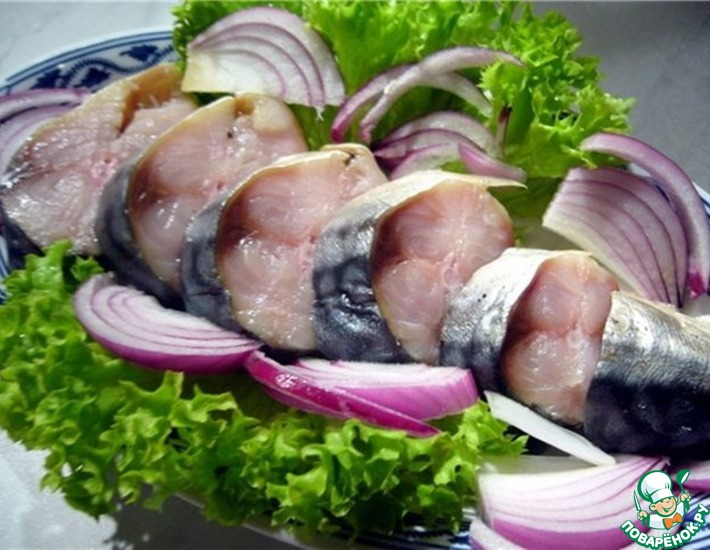 Рецепт: Маринование салаки, селедки, скумбрии, тюльки