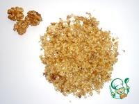 Постные лепёшки с фасолью и орехами ингредиенты