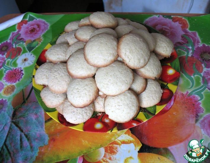 Рецепт: Печенье Дамские пальчики