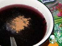 Черничный морс ингредиенты