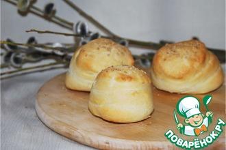 Рецепт: Слоёный хлеб