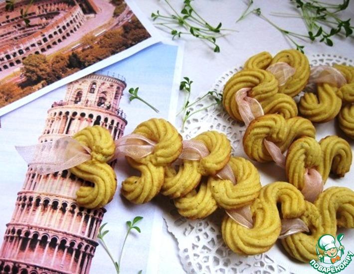 Рецепт: Итальянское печенье с полентой