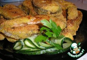 Форель в хрустящей панировке – кулинарный рецепт
