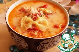 Рецепт: Итальянский куриный суп
