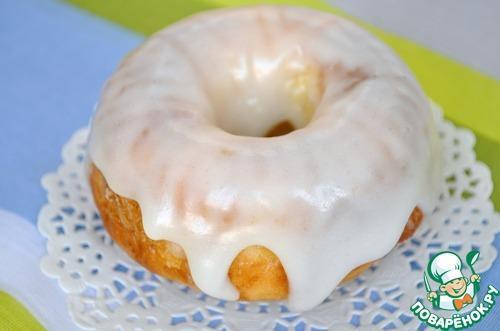 Лимонные кексы в сахарной глазури – кулинарный рецепт