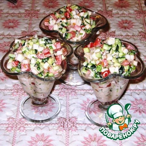Топ самых популярных салатов на праздничный стол.