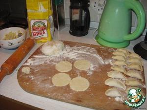 Вареники с картошкой – кулинарный рецепт