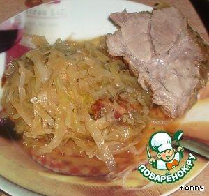 Свинина по-баварски – кулинарный рецепт