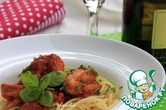 Рецепт: Кусочки филе индейки, приготовленные по-итальянски