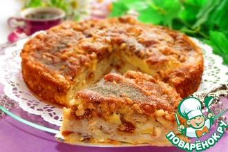 Рецепт: Сицилийский яблочный торт