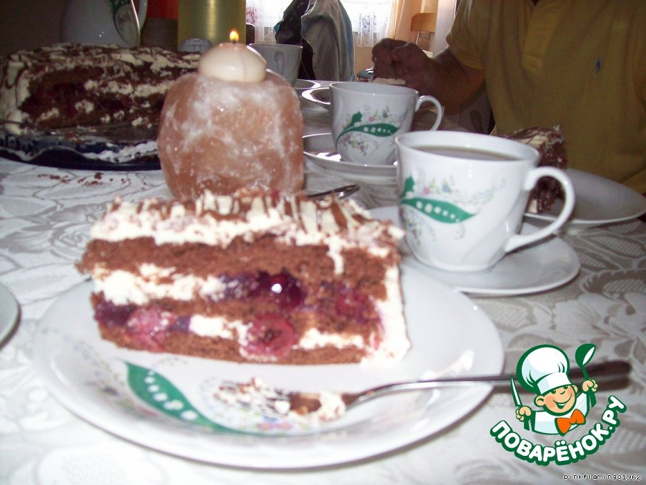 """Торт """"Чтобы растаять"""" (Zum"""" Dachinschmelzen"""")"""