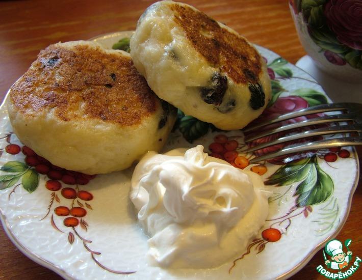Рецепт: Сырники без яиц