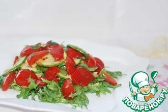 Рецепт: Салат по-итальянски от Юлии Высоцкой