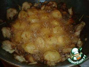 Тоже самое проделаем с оставшимся картофелем