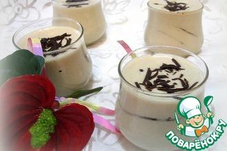 Рецепт: Кофейный мусс с шоколадными прослойками