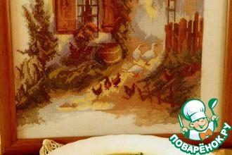 Рецепт: Постный суп с домашней лапшой и белыми грибами