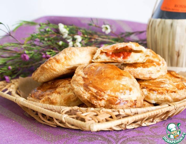 Рецепт: Итальянские слоеные пирожки