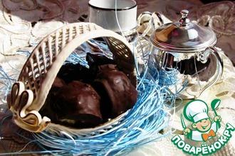 Рецепт: Кокосовые шарики в шоколаде